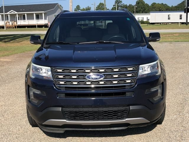 2016 Blue Jeans Metallic Ford Explorer XLT 4 Door Automatic FWD
