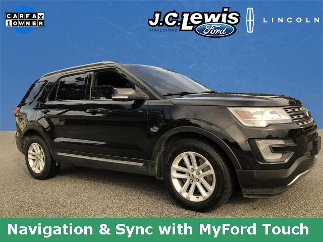 2016 Ford Explorer XLT SUV Automatic 3.5L 6-Cylinder SMPI DOHC Engine 4 Door