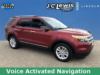 2015 Ruby Red Metallic Tinted Clearcoat Ford Explorer XLT 3.5L 6-Cylinder SMPI DOHC Engine Automatic 4 Door FWD