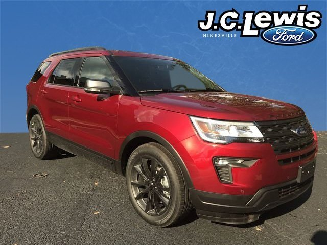 2018 Ford Explorer XLT FWD Automatic 3.5L V6 Ti-VCT Engine SUV 4 Door