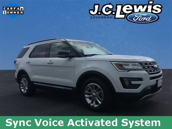 2016 Oxford White Ford Explorer XLT FWD SUV 3.5L 6-Cylinder SMPI DOHC Engine