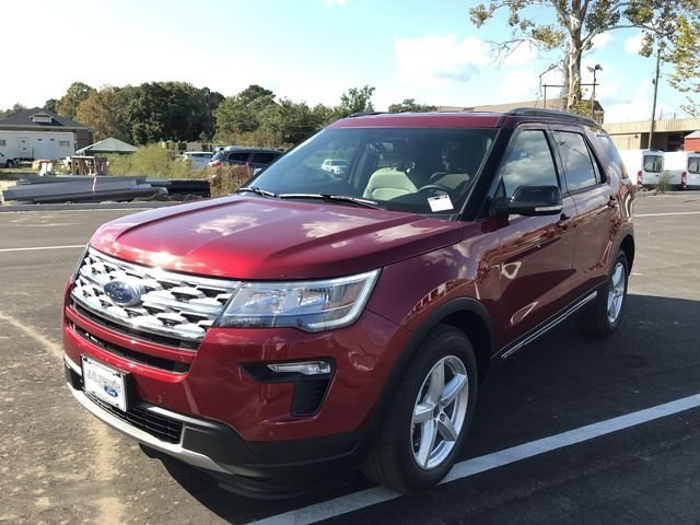 2018 Ford Explorer XLT 4 Door SUV Automatic FWD 3.5L V6 Ti-VCT Engine