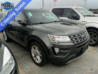 2016 Magnetic Metallic Ford Explorer Limited SUV 3.5L 6-Cylinder SMPI DOHC Engine 4 Door Automatic