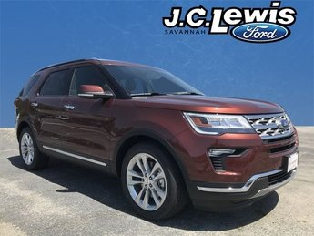 2018 Cinnamon Glaze Metallic Ford Explorer Limited FWD SUV Automatic