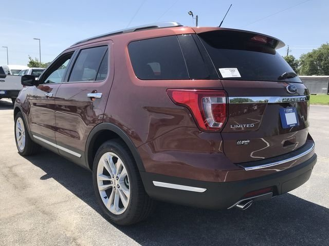 2018 Cinnamon Glaze Metallic Ford Explorer Limited 4 Door SUV 3.5L V6 Ti-VCT Engine Automatic FWD