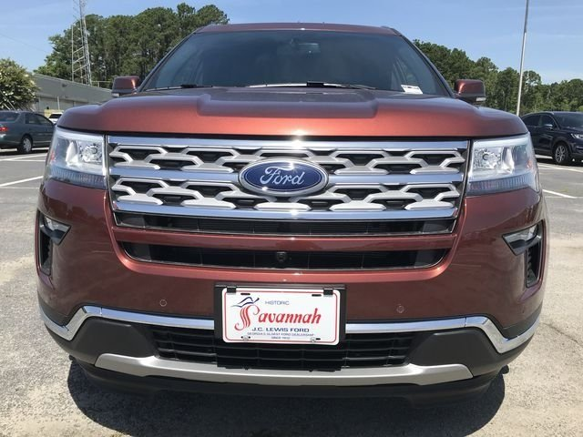 2018 Cinnamon Glaze Metallic Ford Explorer Limited SUV FWD 3.5L V6 Ti-VCT Engine Automatic