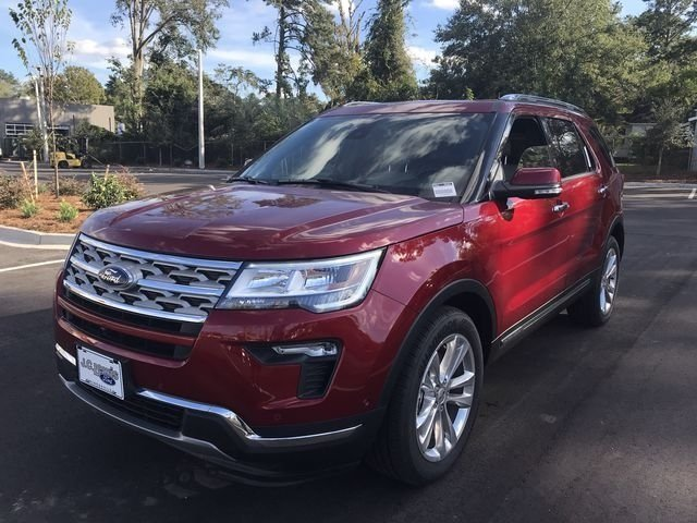 2018 Ford Explorer Limited FWD Automatic SUV 4 Door 2.3L I4 Engine