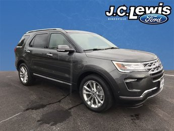2018 Ford Explorer Limited 4 Door SUV 2.3L I4 Engine FWD Automatic