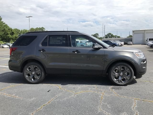 2018 Magnetic Metallic Ford Explorer Sport 3.5L Engine 4X4 SUV Automatic