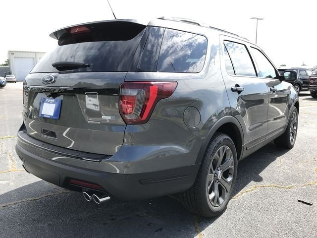 2018 Ford Explorer Sport 4 Door 4X4 SUV 3.5L Engine Automatic