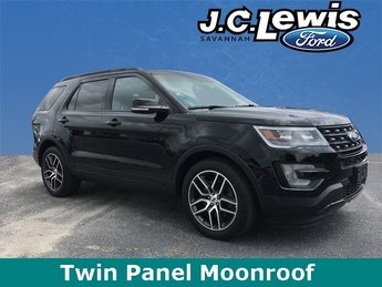 2016 Shadow Black Ford Explorer Sport 4 Door Automatic 4X4 SUV EcoBoost 3.5L V6 GTDi DOHC 24V Twin Turbocharged Engine