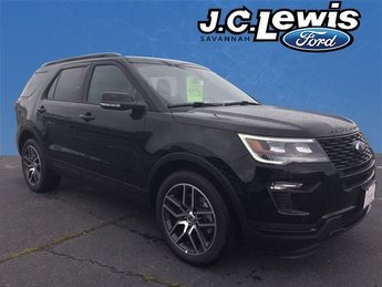 2018 Ford Explorer Sport 3.5L Engine 4 Door 4X4 SUV Automatic