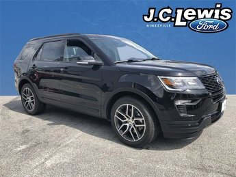 2018 Shadow Black Ford Explorer Sport SUV 4X4 4 Door 3.5L Engine