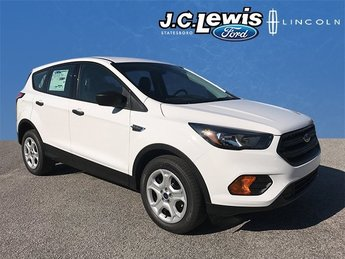 2018 Oxford White Ford Escape S Automatic SUV 4 Door FWD 2.5L iVCT Engine