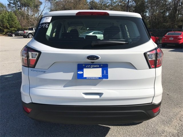 2018 Oxford White Ford Escape S 2.5L iVCT Engine SUV Automatic