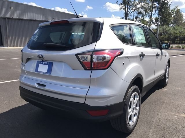 2018 Ingot Silver Metallic Ford Escape S FWD Automatic 2.5L iVCT Engine SUV