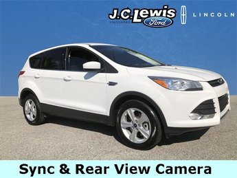 2016 Ford Escape SE EcoBoost 2.0L I4 GTDi DOHC Turbocharged VCT Engine FWD Automatic 4 Door