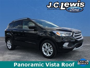 2018 Ford Escape SE EcoBoost 1.5L I4 GTDi DOHC Turbocharged VCT Engine FWD SUV Automatic