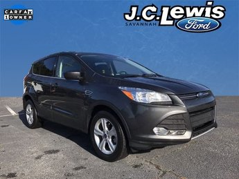 2015 Magnetic Ford Escape SE EcoBoost 1.6L I4 GTDi DOHC Turbocharged VCT Engine 4 Door Automatic FWD SUV