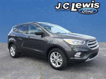 2018 Magnetic Metallic Ford Escape SEL SUV EcoBoost 1.5L I4 GTDi DOHC Turbocharged VCT Engine FWD 4 Door