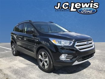 2018 Ford Escape SEL FWD EcoBoost 1.5L I4 GTDi DOHC Turbocharged VCT Engine Automatic 4 Door