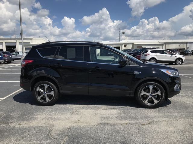 2018 Shadow Black Ford Escape SEL SUV Automatic EcoBoost 1.5L I4 GTDi DOHC Turbocharged VCT Engine