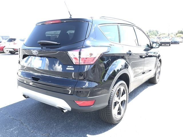 2018 Shadow Black Ford Escape SEL EcoBoost 1.5L I4 GTDi DOHC Turbocharged VCT Engine SUV 4 Door Automatic FWD