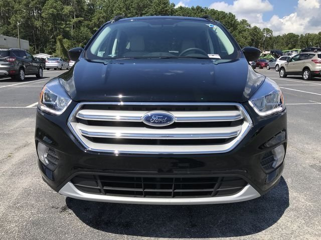 2018 Shadow Black Ford Escape SEL 4 Door SUV EcoBoost 1.5L I4 GTDi DOHC Turbocharged VCT Engine