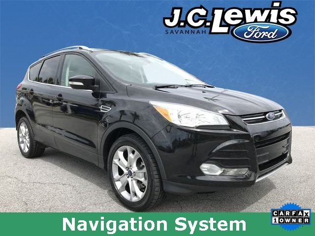 2015 Ford Escape Titanium Automatic SUV EcoBoost 2.0L I4 GTDi DOHC Turbocharged VCT Engine 4 Door FWD