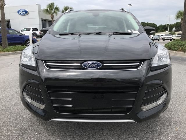 2015 Tuxedo Black Ford Escape Titanium EcoBoost 2.0L I4 GTDi DOHC Turbocharged VCT Engine FWD Automatic 4 Door SUV