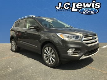 2018 Magnetic Metallic Ford Escape Titanium FWD Automatic 4 Door