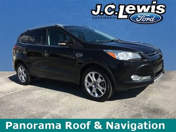 2014 Tuxedo Black Ford Escape Titanium 4X4 Automatic SUV EcoBoost 1.6L I4 GTDi DOHC Turbocharged VCT Engine