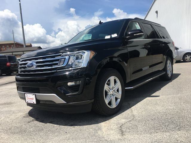 2018 Shadow Black Ford Expedition Max XLT EcoBoost 3.5L V6 GTDi DOHC 24V Twin Turbocharged Engine 4 Door RWD