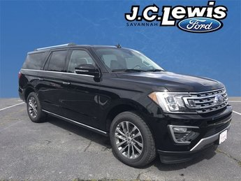 2018 Shadow Black Ford Expedition Max Limited SUV EcoBoost 3.5L V6 GTDi DOHC 24V Twin Turbocharged Engine Automatic 4 Door