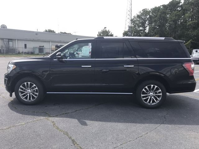 2018 Shadow Black Ford Expedition Max Limited Automatic 4 Door EcoBoost 3.5L V6 GTDi DOHC 24V Twin Turbocharged Engine RWD