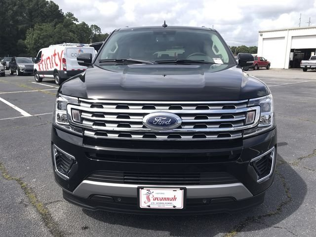 2018 Shadow Black Ford Expedition Max Limited RWD SUV EcoBoost 3.5L V6 GTDi DOHC 24V Twin Turbocharged Engine 4 Door Automatic