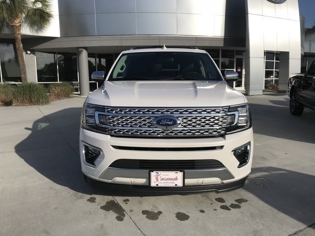 2018 Ford Expedition Max Platinum Automatic SUV EcoBoost 3.5L V6 GTDi DOHC 24V Twin Turbocharged Engine 4 Door RWD