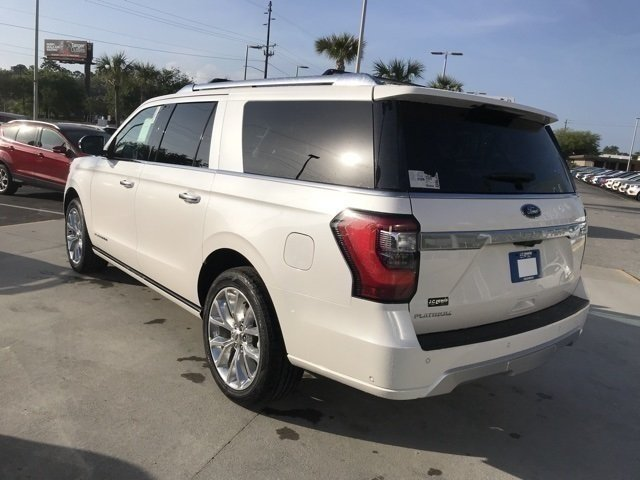 2018 White Metallic Ford Expedition Max Platinum 4 Door RWD Automatic SUV