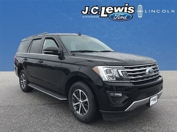 2018 Shadow Black Ford Expedition XLT 4 Door RWD Automatic EcoBoost 3.5L V6 GTDi DOHC 24V Twin Turbocharged Engine SUV