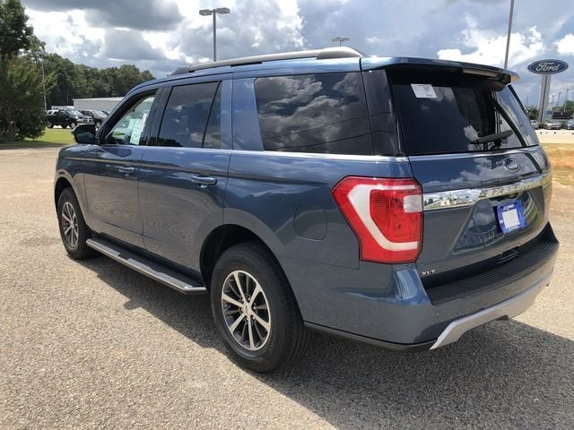 2018 Blue Metallic Ford Expedition XLT SUV EcoBoost 3.5L V6 GTDi DOHC 24V Twin Turbocharged Engine 4 Door Automatic