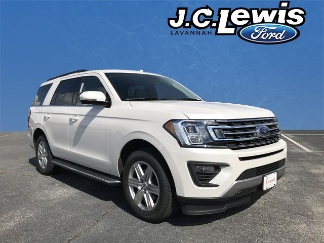 2018 White Metallic Ford Expedition XLT Automatic RWD SUV 4 Door EcoBoost 3.5L V6 GTDi DOHC 24V Twin Turbocharged Engine