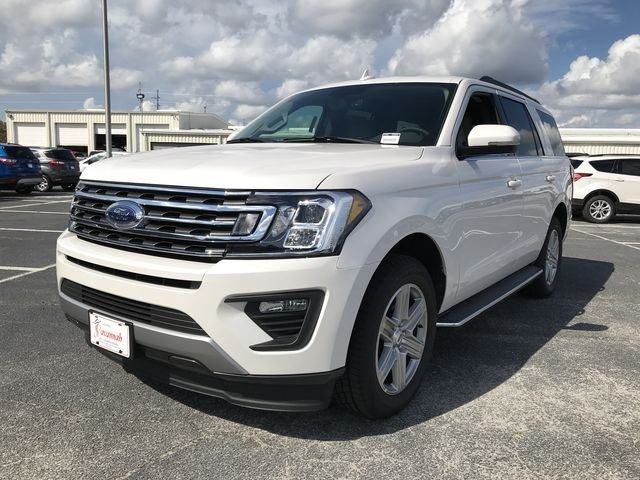 2018 White Metallic Ford Expedition XLT Automatic RWD 4 Door EcoBoost 3.5L V6 GTDi DOHC 24V Twin Turbocharged Engine SUV