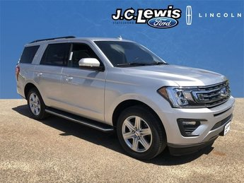 2018 Ingot Silver Metallic Ford Expedition XLT Automatic 4 Door SUV RWD EcoBoost 3.5L V6 GTDi DOHC 24V Twin Turbocharged Engine