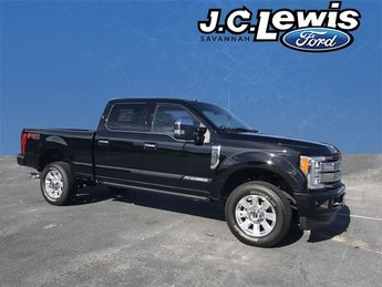 2018 Ford Super Duty F-250 SRW Platinum 4 Door 4X4 Automatic Truck