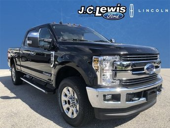 2019 Agate Black Ford Super Duty F-250 SRW Lariat Automatic Power Stroke 6.7L V8 DI 32V OHV Turbodiesel Engine Truck 4X4 4 Door