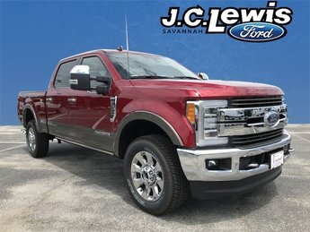 2019 Ford Super Duty F-350 SRW King Ranch 4X4 4 Door Automatic Truck Power Stroke 6.7L V8 DI 32V OHV Turbodiesel Engine