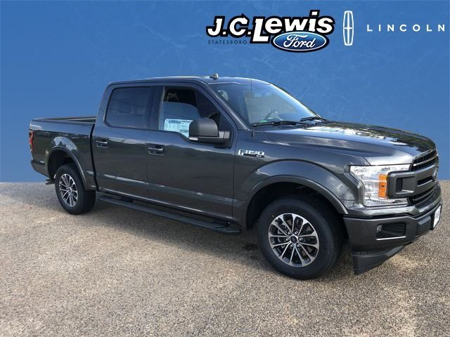 2018 Magnetic Metallic Ford F-150 XLT Truck 5.0L V8 Ti-VCT Engine Automatic