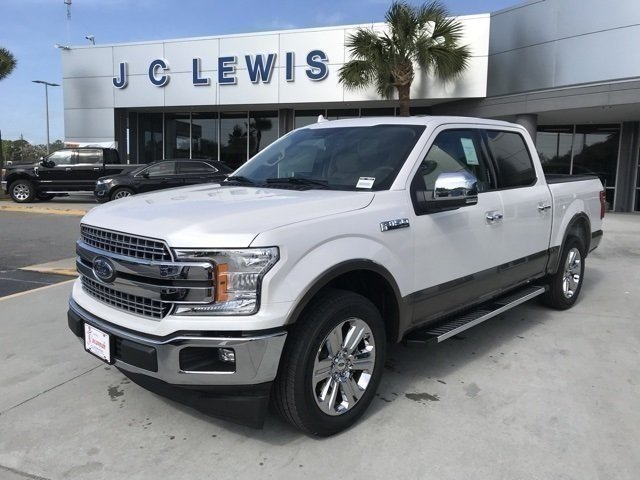 2018 White Ford F-150 Lariat Truck Automatic 4 Door RWD