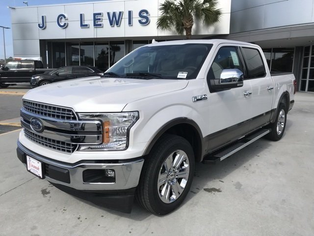 2018 White Ford F-150 Lariat RWD 4 Door Automatic 5.0L V8 Ti-VCT Engine