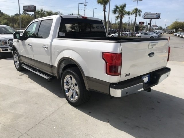 2018 White Ford F-150 Lariat 4 Door Truck Automatic